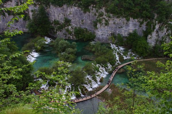 プリトヴィッツェ湖群国立公園1