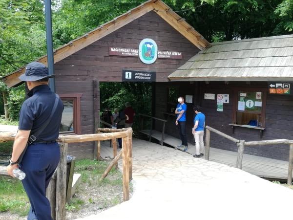 プリトヴィッツェ湖群国立公園_エントランス