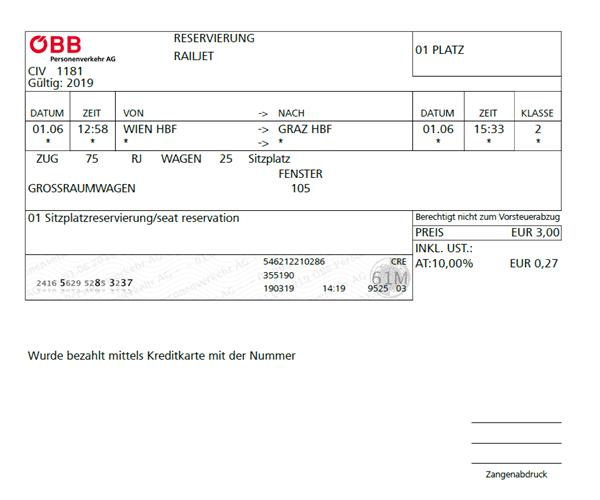 ウィーン-グラーツ電車_チケット2