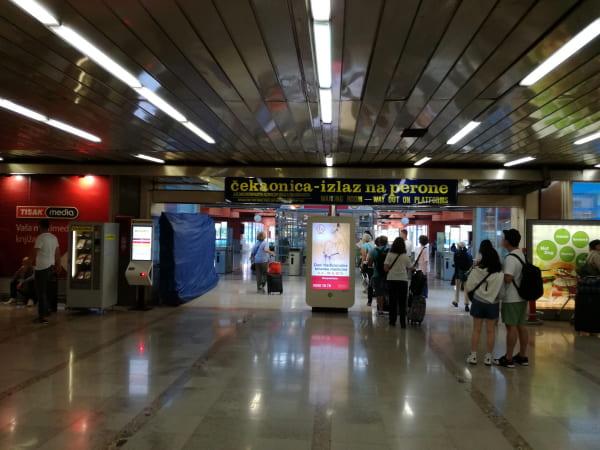 ザグレブバスターミナル3