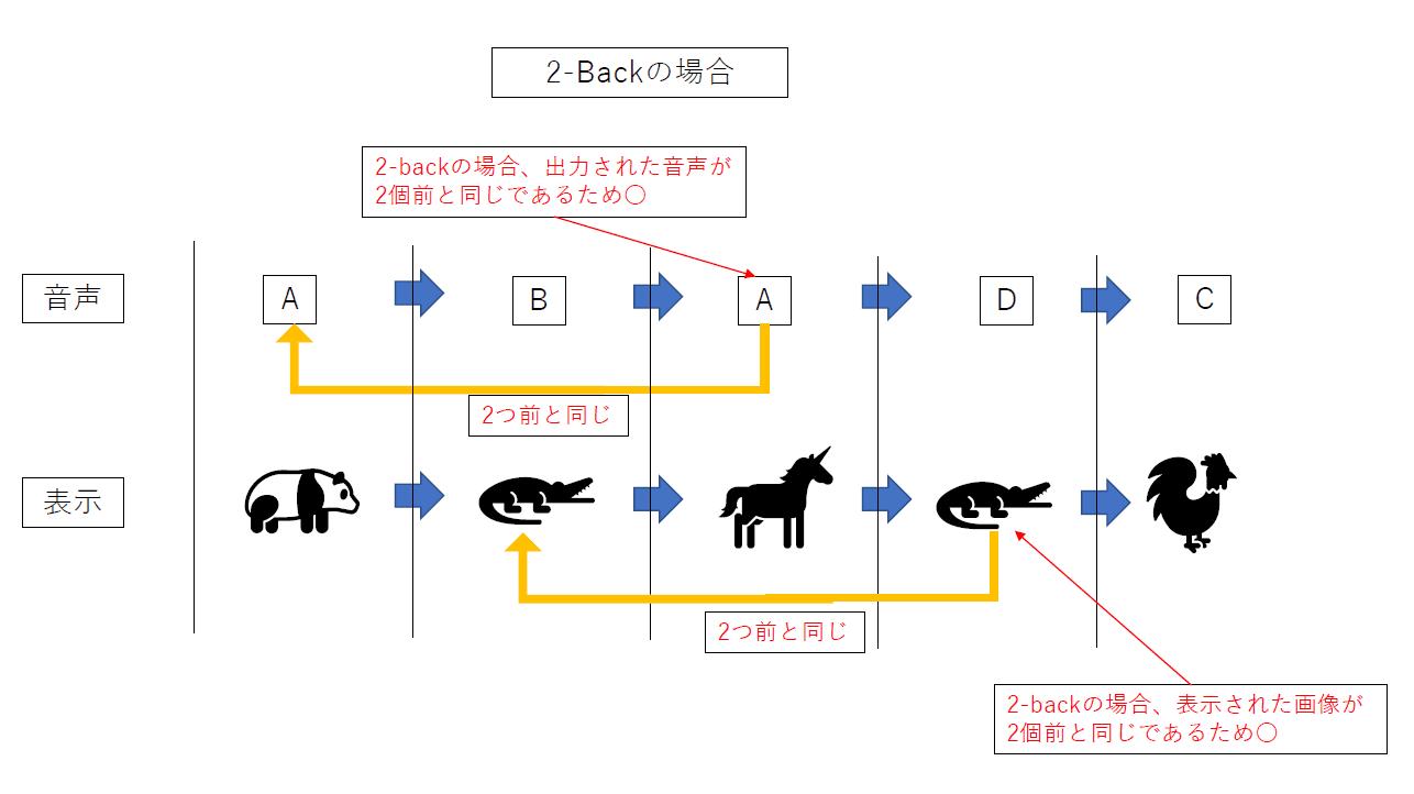 DNBテストのやり方の図解