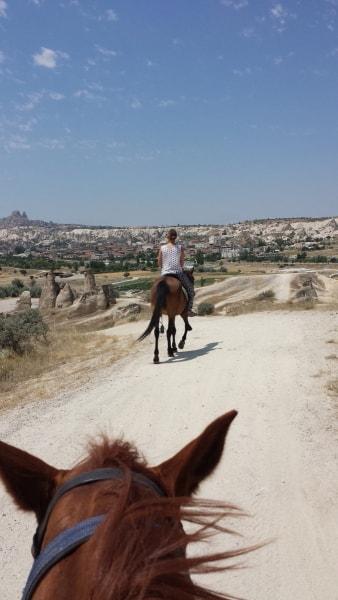 カッパドキア乗馬