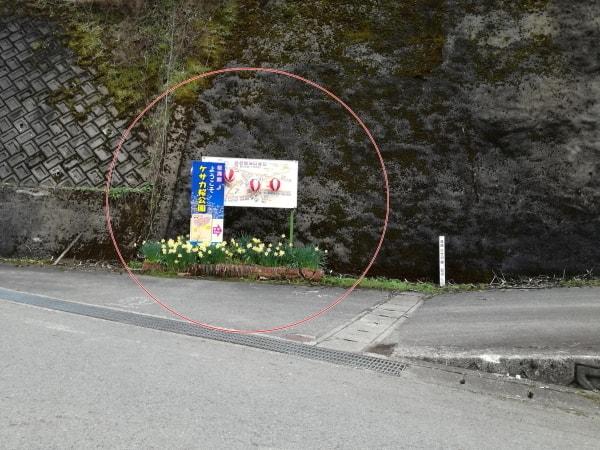 畑ケサカ桜公園アクセス2