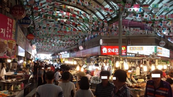 韓国屋台街