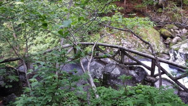 二の滝上部展望台