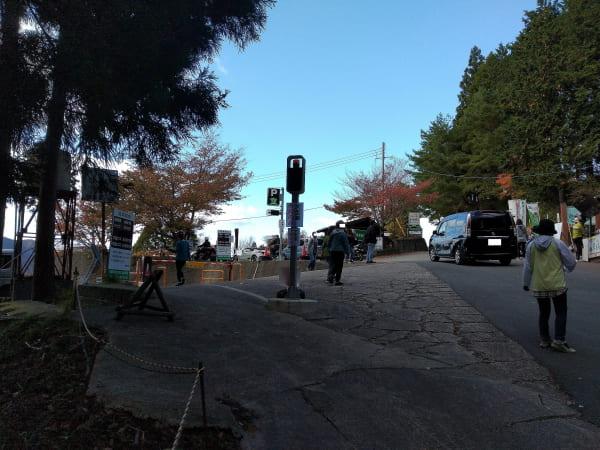 曽爾高原駐車場