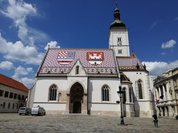 ザグレブ_聖マルコ教会